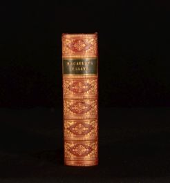 1867 Critical and Historical Essays Edinburgh Review MACAULAY Austin Binding