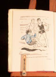 1951 Five Fall Into Adventure Enid Blyton Third Impression in Dustwrapper
