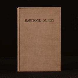 c1940 Fifty-Six Baritone Songs With Accompaniments for Pianoforte Sheet Music