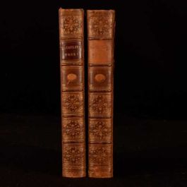 1860 2vol The Miscellaneous Writings of Lord Macaulay Hatchard Binding First