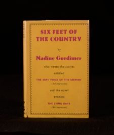 1956 Six Feet of Country by Nadine Gordimer First Edition
