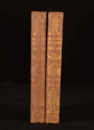 1847 2vol The Comic History of England Gilbert A Beckett Illustrated John Leech