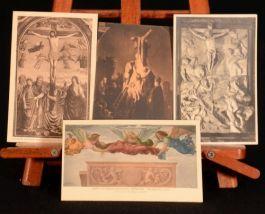 c1906 Plates Art Ephemera Miniatures Postcards Photographs Paintings