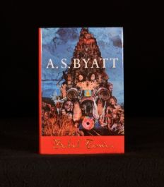 1996 Babel Tower by A S Byatt Signed First Edition