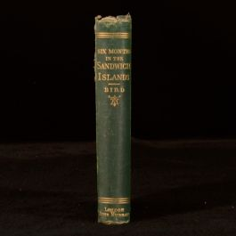 1880 Six Months In the Sandwich Islands by Isabella Bird Travel Hawaii Third Ed