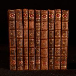 1736-1742 9Vol The Works of Alexander Pope Poetry