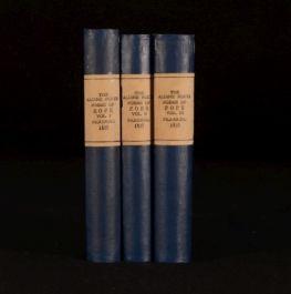 1835 3Vol The Poetical Works of Alexander Pope Aldine Edition British Poets
