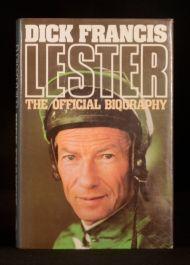 1986 Dick Francis Lester The Official Biography Piggott Horse Racing