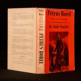 1954 Petrus Borel The Lycanthrope Life and Times by Enid Starkie Signed