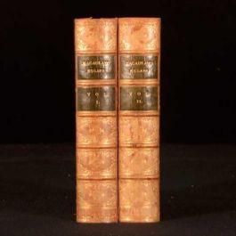 1898 2vol Critical and Historical Essays Macaulay Edinburgh Review Tree Calf