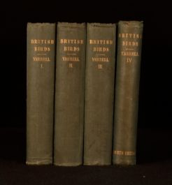 1845-85 4vol A History of British Birds William Yarrell Illustrated Second