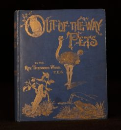 c1897 Out-of-the-Way Pets and Other Papers Theodore Wood Illustrated