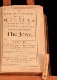 1700 A Demonstration of the Messias Part III Richard Kidder Bishop of Bath Wells