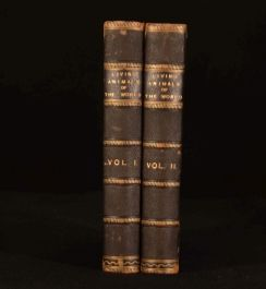 1901 2vol The Living Animals of the World Colour Plates C Cornish