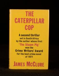 1972 First Edition of James McClure's The Caterpillar Cop
