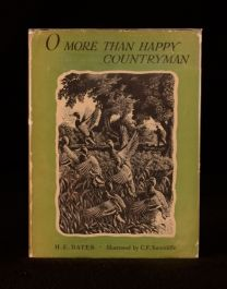 1943 H E Bates O More Than Happy Countryman Dustwrapper Illustrated First