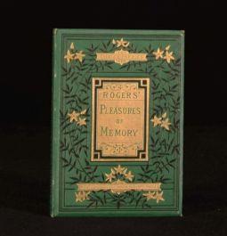 c1880 Pleasures of Memory Samuel Rogers