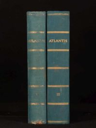 1938 2vol Atlantis Lander Volker Reisen Jahrgang X Scarce Europe