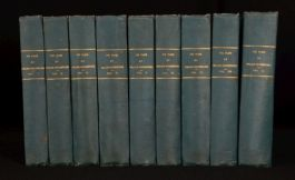 1803-1807 9vol Plays Of William Shakespeare Annotations By Various Commentators