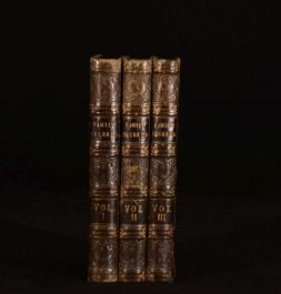 1841 3vol Family Secrets or Hints to Those Who Would Make Home Happy Ellis