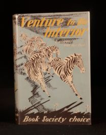 1952 Venture to the Interior Laurens van der Post First Edition in Dustwrapper
