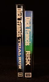 1977/1978 2Vols Dick Francis Risk Trial Run Horse Racing Crime First Editions