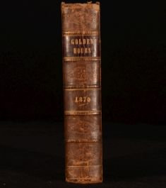 1870 Golden Hours Monthly Magazine Family General Reading Whittemore Illustrated