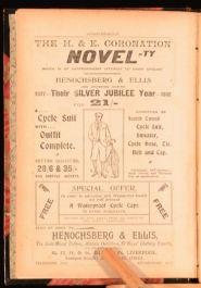 1902 Uncle Bernac A Memory of the Empire by Arthur Conan Doyle Advertisements