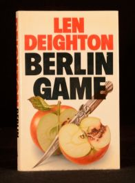 1983 Len Deighton Berlin Game UK First Edition with Dustwrapper