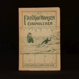 1903 Eskimoleben by Fridtjof Nansen Eskimo Life Norway Exploration German