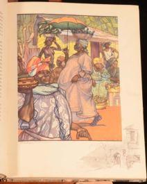 c1940 White Africans and Black Caroline Singer Illustrated Travel Africa