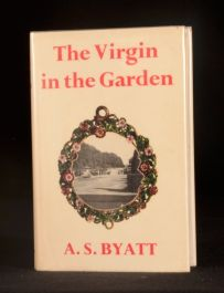 1978 The Virgin in the Garden A. S. Byatt First Edition with Dustwrapper