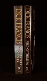 1998/1999 2Vols Dick Francis Field 13 Second Wind Horse Racing First Edition