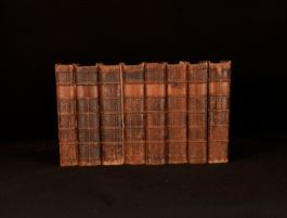 1762 8 Vols The Works of Henry Fielding Life of the Author Journal Amelia Farce
