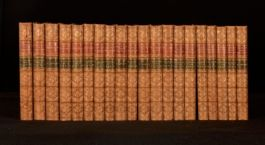 1821-1837 20Vol Works of Washington and Theodore Irving Fine Binding FIRSTS