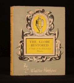 1953 The Globe Restored Elizabethan Theatre C Walter Hodges Illustrated