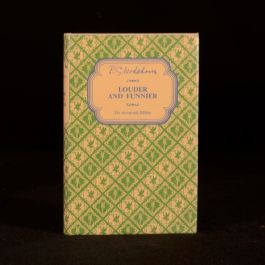 1963 P G Wodehouse Louder and Funnier Autograph Edition with Dustwrapper