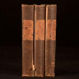 1844 3Vol Samuel Coleridge The Friend A Series of Essays on Politics Morals