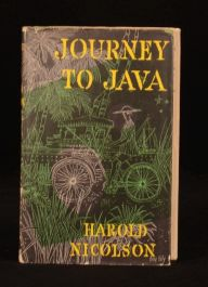 1957 Journey to Java Harold Nicolson First Edition with Unclipped Dustwrapper