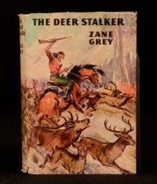 1949 The Deer Stalker Zane Grey Western Novel First Edition Dustwrapper
