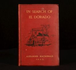 1905 Macdonald In Search Of El Dorado Wanderer Experiences Intro Admiral Moresby