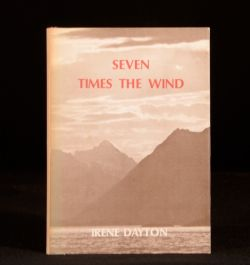 1977 Seven Times the Wind Irene Dayton Signed First Edition