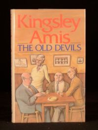 1986 Kingsley Amis The Old Devils First Edition with Dustwrapper