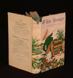 1949 White Stranger Six Moons in Celebes Harry Wilcox First Edition WWII