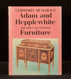 1966 Adam and Hepplewhite furniture First edition Colour Illustrated Musgrave