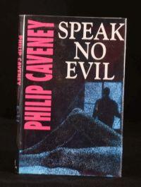 1993 Speak No Evil Philip Caveney First Edition with Dustwrapper Thriller