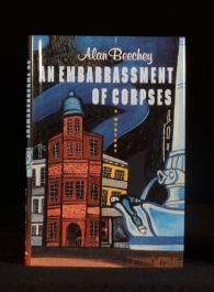 1997 An Embarrassment of Corpses Alan Beechey First Edition in Dustwrapper
