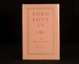 1954 William Sansom Lord Love Us Lynton Lamb First Edition Unclipped Dustwrapper