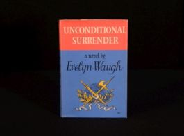 1961 Evelyn Waugh Unconditional Surrender First Edition Unclipped Dustwrapper
