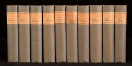 1898-1912 10vol The Bibelot Reprints Poetry and Prose for Booklovers Illustrated